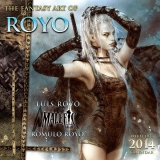 THE FANTASY ART OF ROYO - OFFICIAL 2014 CALENDAR