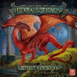 DRAGONS - 2015 CALENDAR BY CIRUELO