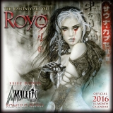THE FANTASY ART OF ROYO - OFFICIAL 2016 CALENDAR