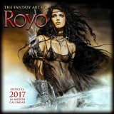 THE FANTASY ART OF ROYO - OFFICIAL 2017 CALENDAR
