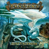 DRAGONS - 2017 CALENDAR BY CIRUELO