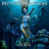 MYTHS & MONSTERS - ART OF TOM WOOD 2020 CALENDAR
