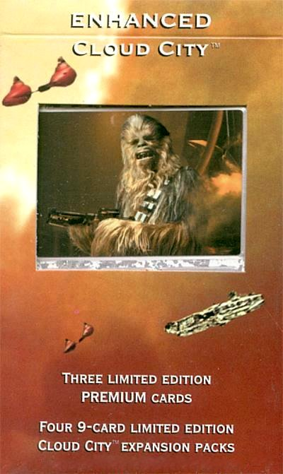 SW ENHANCED CLOUD CITY Chewie With Blaster Rifle