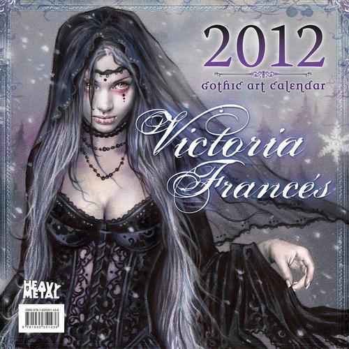 kalend e victoria franc s gothic art 2012 calendar. Black Bedroom Furniture Sets. Home Design Ideas