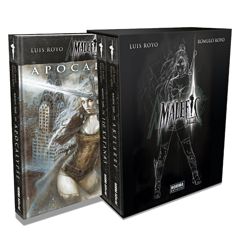 MALEFIC TIME BOXED SET (Komplet 1+2+3)